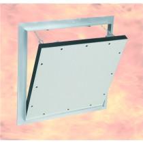 System F4-Przeciwpożarowa klapa rewizyjna  do ścian z płyt gipsowo-kartonowych