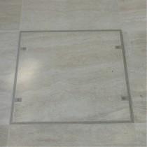 Klapy podłogowe - seria 7500 - Pojedyńcza klapa z aluminium