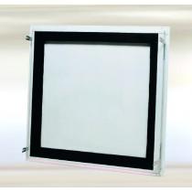 System B3 - Klapa rewizyjna z blachy stalowej hermetyczna i pyłoszczelna  z zamkiem wkładkowym